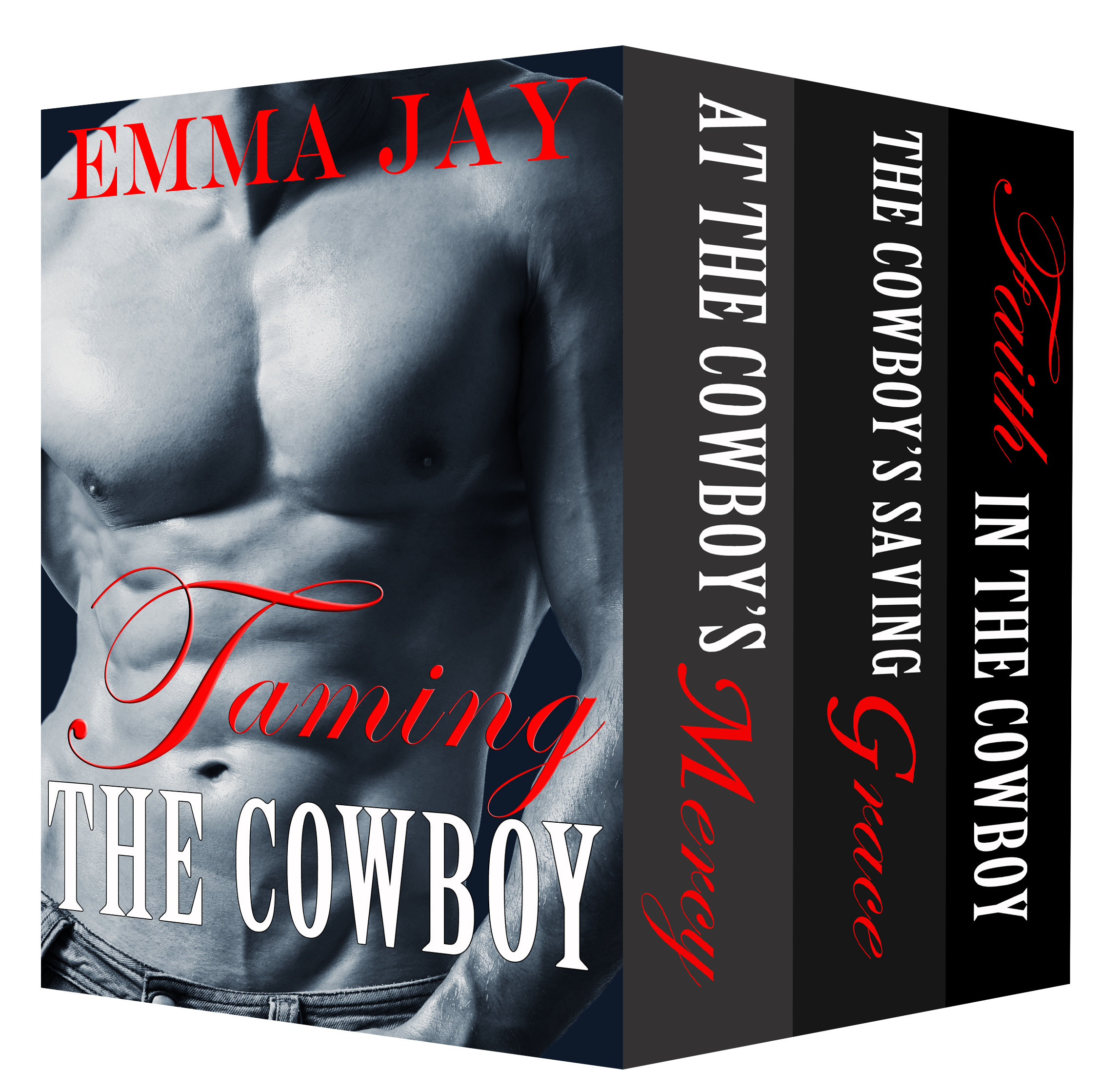 Emma Jay is here with her very hot cowboys