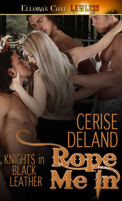 Cerise DeLand does 2 men at once…again in BIND ME CLOSE