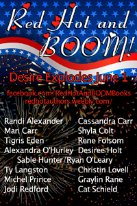 What's hot? 16 authors and the Fourth of July