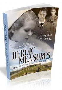 Heroic Measures by Jo-Ann Power historical fiction women's romance WWI France nurses 3-D