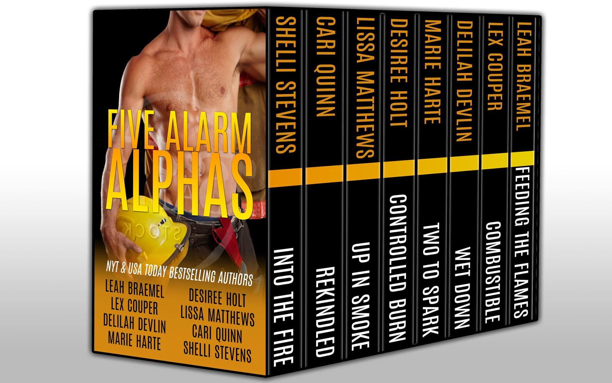 Five Alarm Alphas – hotter than hot!