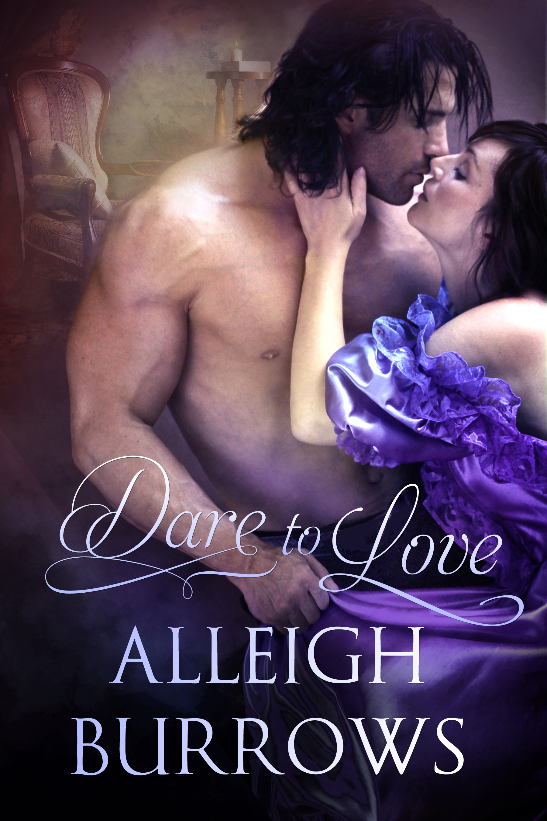 Alleigh Burrows' debut book DARE TO LOVE now up for preorder!