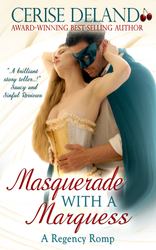 Masquerade With A Marquess By Cerise DeLand -2820x4500