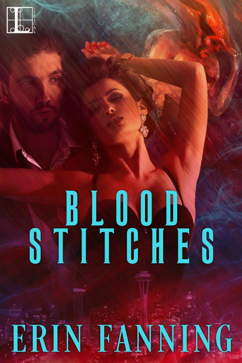 It's Cover Reveal Day for Blood Stitches