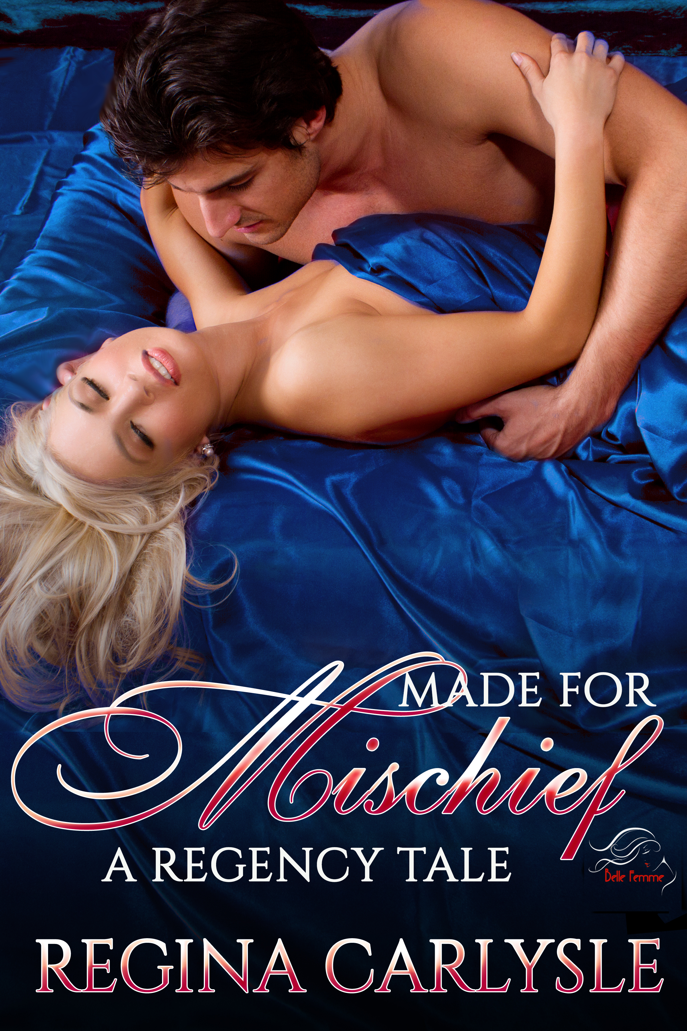 What happened when he found her beneath his bed?