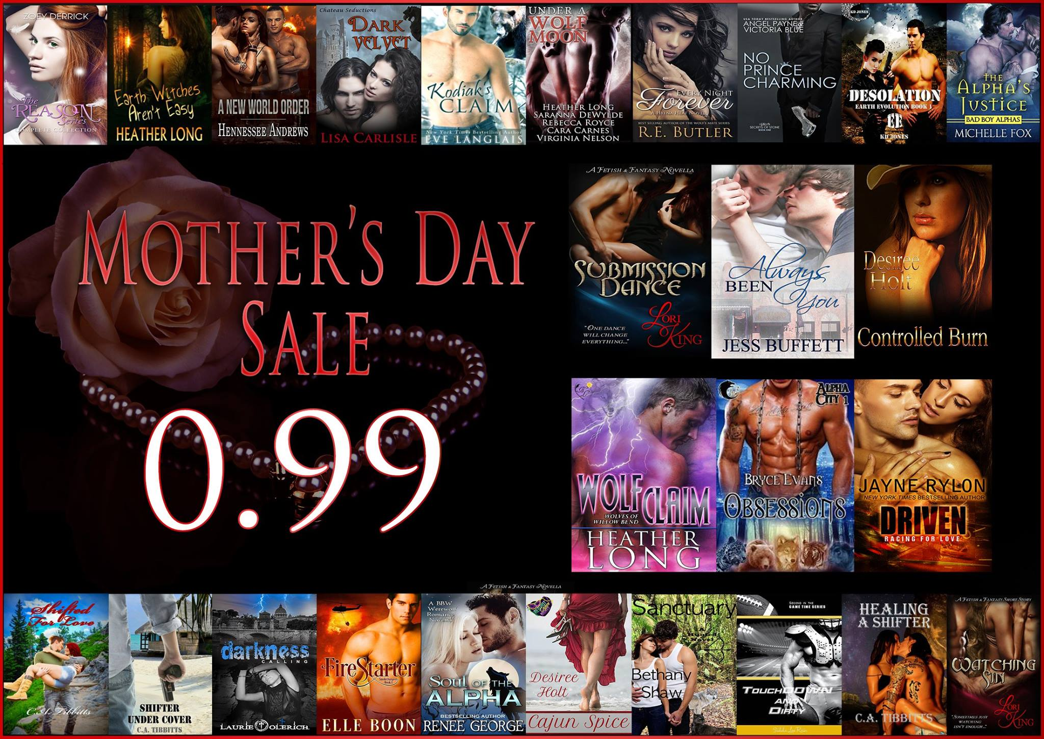 Big Mother's Day Bargain Sale May 9-12