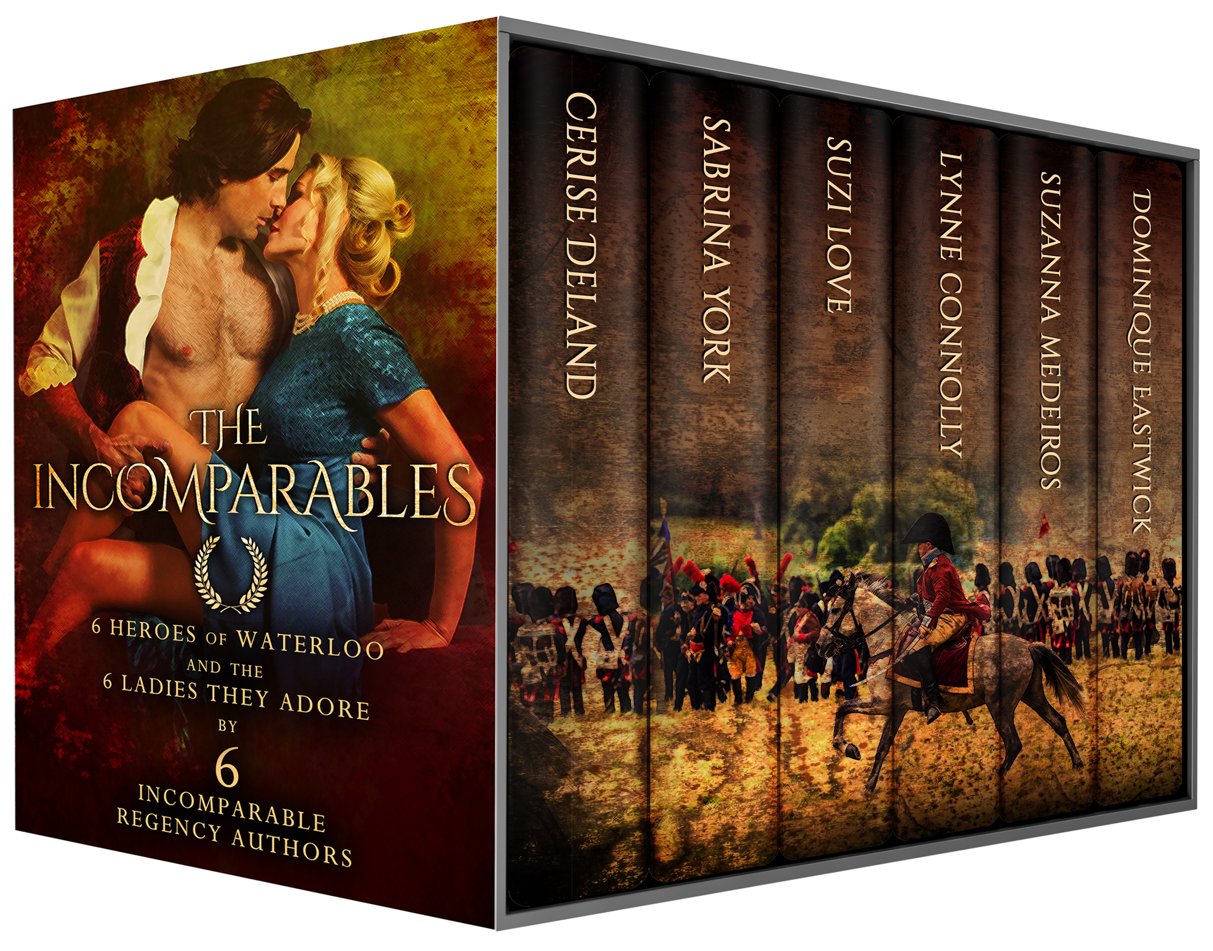 Cerise DeLand's unforgettable hero in THE INCOMPARABLES, an excerpt, out now!