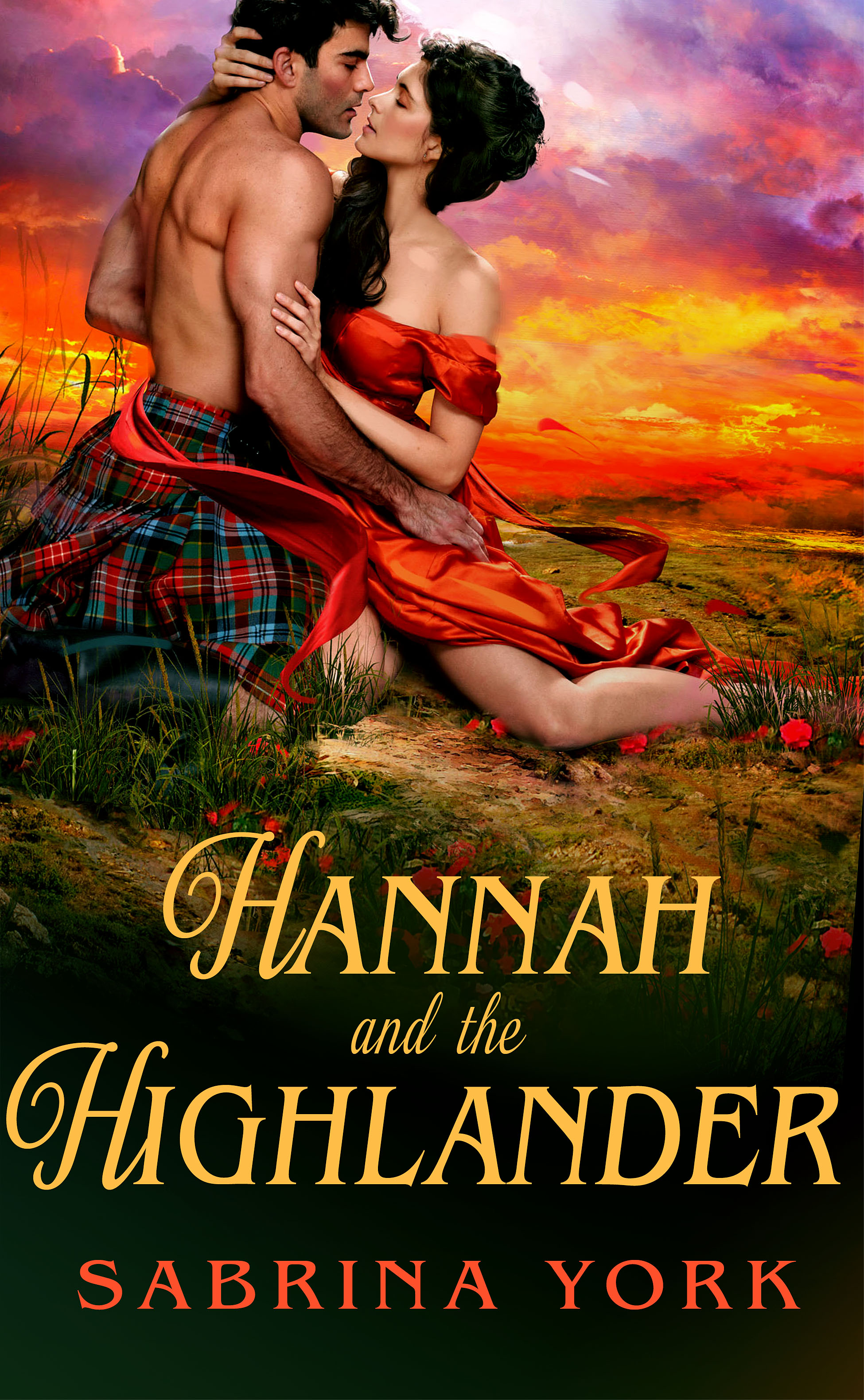 Meet Hannah and Her Highlander