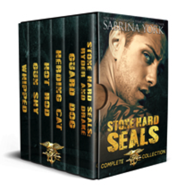 Sabrina York is back with STONE HARD SEALS. Yum!
