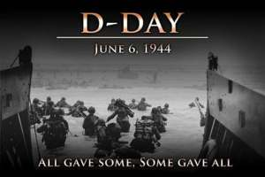 D-Day,m the 6th of June