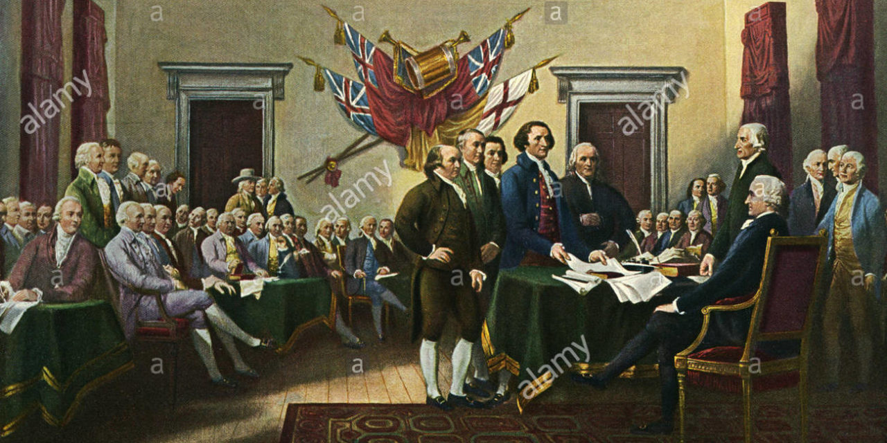 July 4–Where it all started. Take a minute to read.