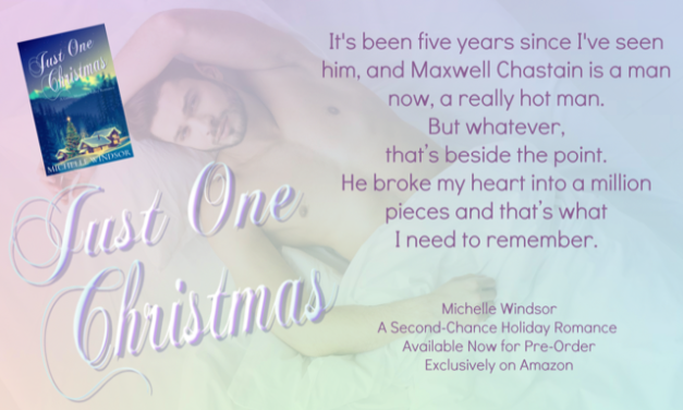Just One Christmas…just right for the holiday. Check it out!
